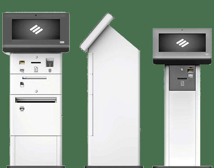 Terminales multimedia de autoservicio y control de procesos.