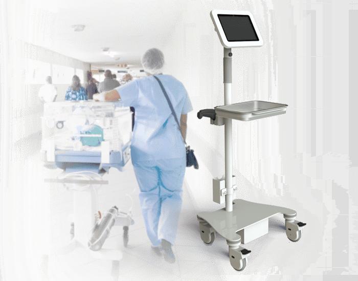 Módulo de enfermería móvil para el seguimiento de pacientes internados.