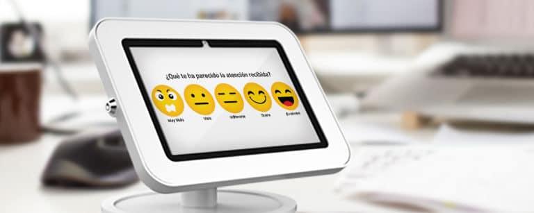 terminal interactiva encuestas de satisfacción