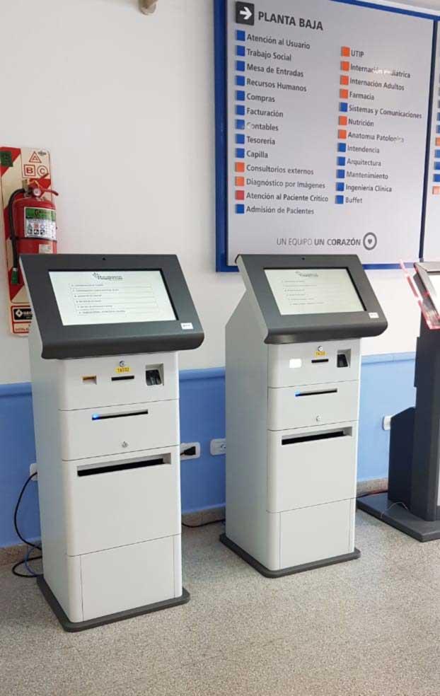 Terminal multimedia multipropósito EXO T19 Plus